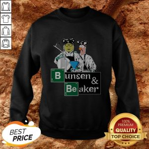 Hot Bunsen And Beaker Breaking Sweatshirt