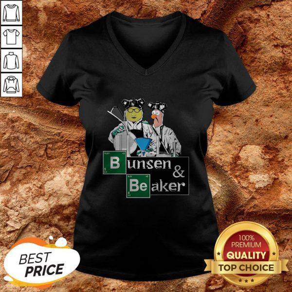 Hot Bunsen And Beaker Breaking V-neck