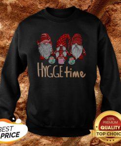 Hot Christmas Gnomes Hygge Coffee Sweatshirt