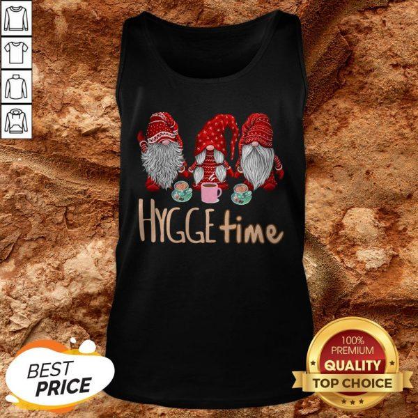 Hot Christmas Gnomes Hygge Coffee Tank Top