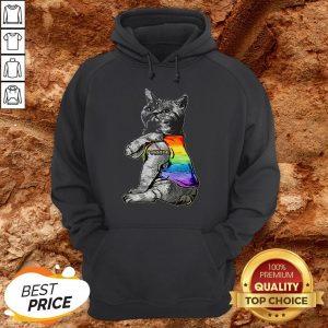 Hot LGBT Purride Cat HoodieHot LGBT Purride Cat Hoodie