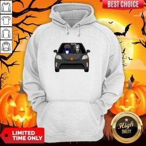 Invisible Man Family Drive In The Car Halloween Day Hoodie
