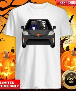 Invisible Man Family Drive In The Car Halloween Day Shirt