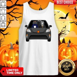 Invisible Man Family Drive In The Car Halloween Day Tank Top