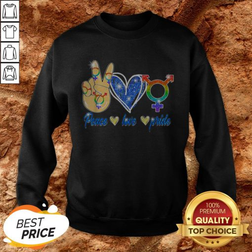 LGBT Lesbian Gay Bisexual Peace Love Gift Apparel SweatshirtLGBT Lesbian Gay Bisexual Peace Love Gift Apparel Sweatshirt