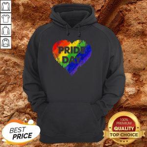 LGBT Pride Day Heart Gay Lesbian Pride Month Hoodie