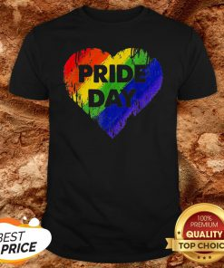 LGBT Pride Day Heart Gay Lesbian Pride Month Shirt