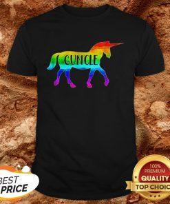 LGBT Proud Guncle Unicorn Shirt
