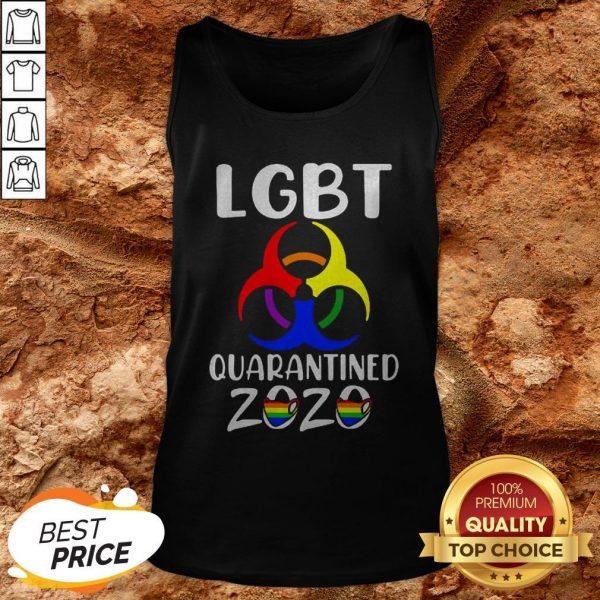 LGBT Quarantined 2020 Coronavirus Tank Top
