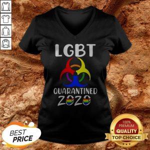 LGBT Quarantined 2020 Coronavirus V-neck