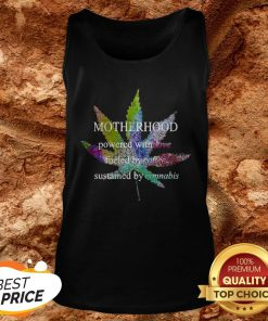 Motherhood Love Fueled By Coffee Sustained By Cannabis Tank TopMotherhood Love Fueled By Coffee Sustained By Cannabis Tank Top