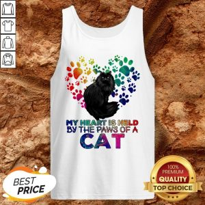 My Heart Is Held By The Paws Of A Cat LGBT Tank Top