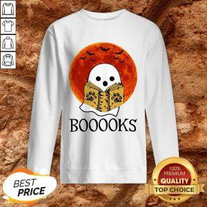Nice Booooks Halloween Sweatshirt