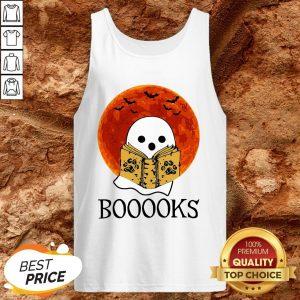 Nice Booooks Halloween Tank Top