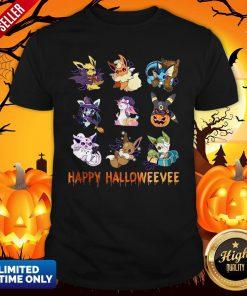 Pokemon Pikachu Happy Halloween Shirt