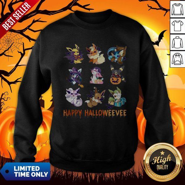 Pokemon Pikachu Happy Halloween Sweatshirt