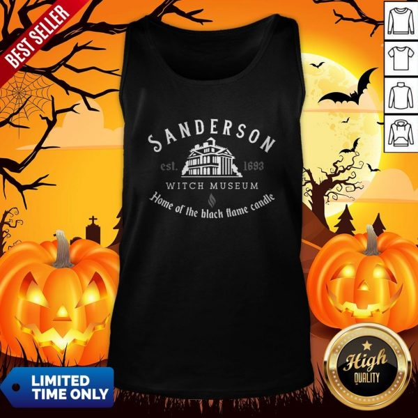 Sanderson Witch Museum Halloween Tank Top