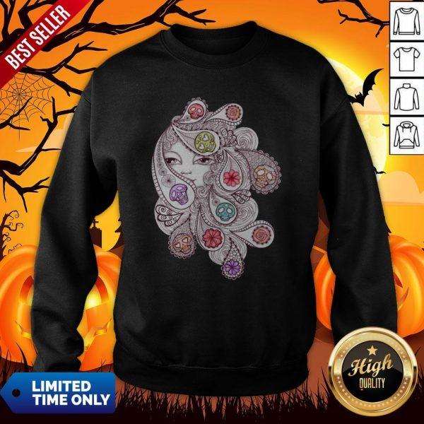 Skeleton Waves Day Of The Dead Dia De Los Muertos Sweatshirt