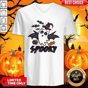 Spooky Halloween Tee Shirt 2019 Mens Jersey V-neck