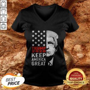 Trump 2020 Keep America Great V-neck