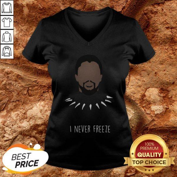 Wakanda King Panther Chadwick Boseman 1977 2020 Signature V-neck