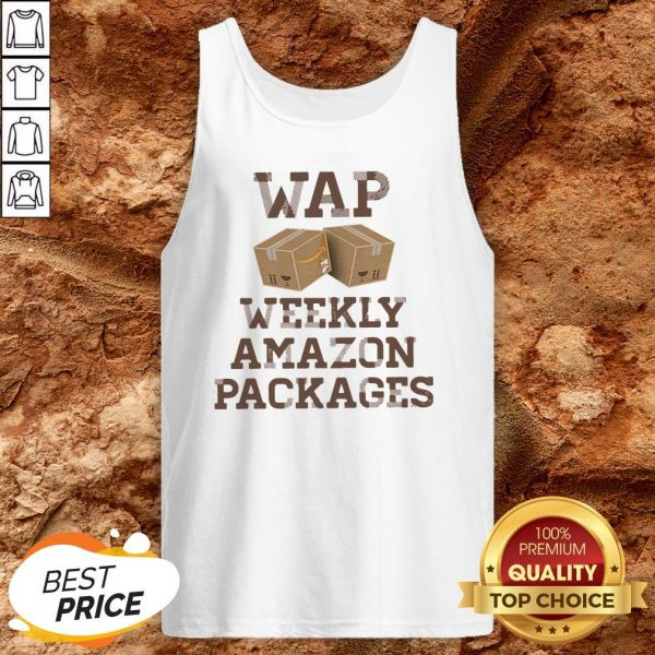 Wap Weekly Amazon Packages Tank TopWap Weekly Amazon Packages Tank Top