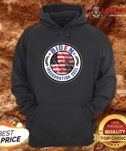 Biden Inauguration 2021 American Flag Hoodie Design By Lordoftee.com