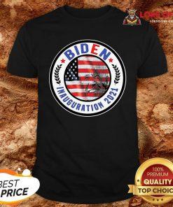 Biden Inauguration 2021 American Flag ShirtBiden Inauguration 2021 American Flag Shirt Design By Lordoftee.com