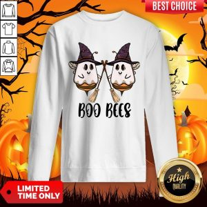 Boo Bees Witch Halloween ShirtBoo Bees Witch Halloween Sweatshirt