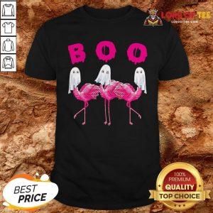 Boo Flamingo Halloween Shirt