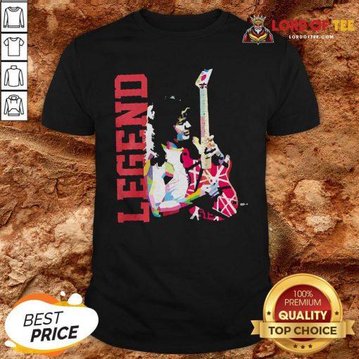 Eddie Van Halen Legend ShirtEddie Van Halen Legend Shirt