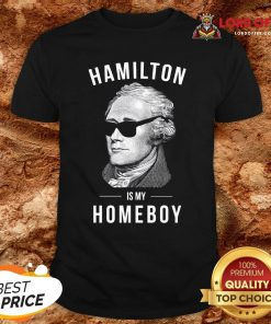 Funny Hamilton Is My Home Boy Shirt Design By Lordoftee.com