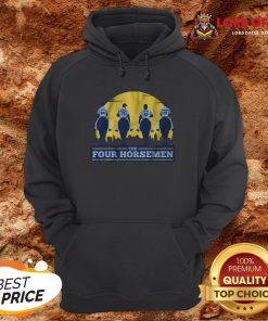 Funny THE FOUR HORSEMEN Vintage Hoodie Design By Lordoftee.com