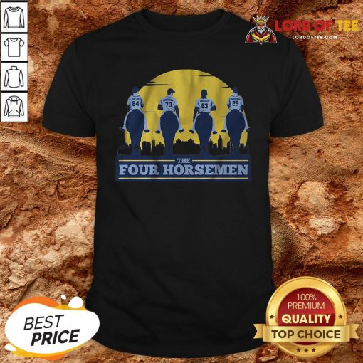 Funny THE FOUR HORSEMEN Vintage Shirt Design By Lordoftee.com