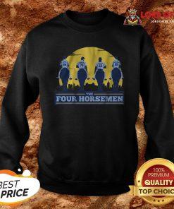 Funny THE FOUR HORSEMEN Vintage Sweatshirt Design By Lordoftee.com