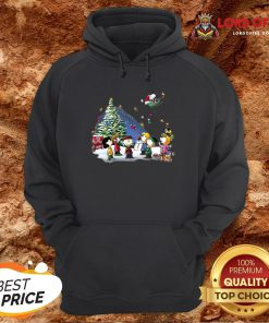 Funny The Peanuts Characters Merry Christmas Hoodie Design By Lordoftee.com