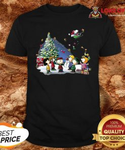 Funny The Peanuts Characters Merry Christmas Shirt Design By Lordoftee.com