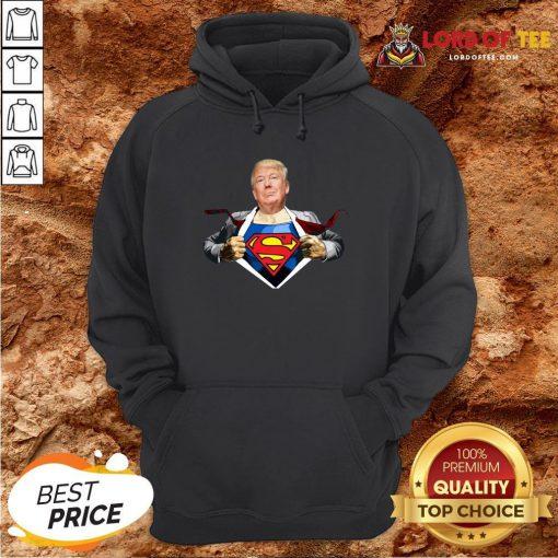 Good Trump Superman Hoodie Design By Lordoftee.com