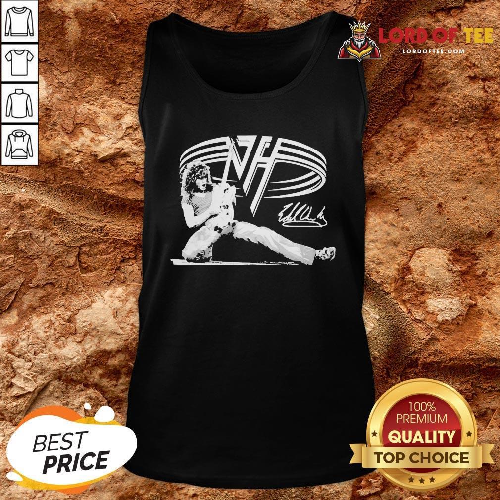 Good Van Halen Signature Tank Top Design By Lordoftee.com