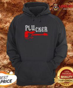 Happy Plucker Guitar Hoodie Design By Lordoftee.com