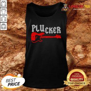 Happy Plucker Guitar Tank Top Design By Lordoftee.com