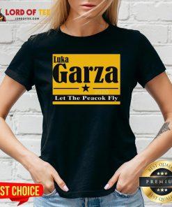 Luka Garza 2020 Let The Peacock Fly V-neck