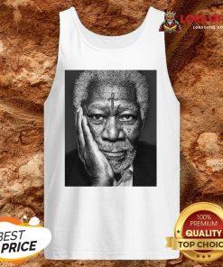 Morgan Freeman Photographed Tank Top