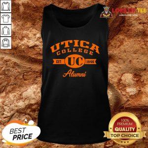 Nice Utica College Est UC 1946 Alumni Tank Top Design By Lordoftee.com