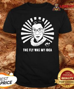 The Fly Was My Idea VP Debates Mike Pence Fly Buzz RBG T-Shirt