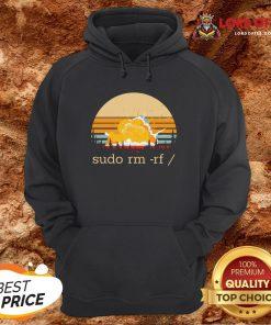 Official Sudo Rm Rf Vintage Hoodie