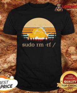 Official Sudo Rm Rf Vintage Shirt