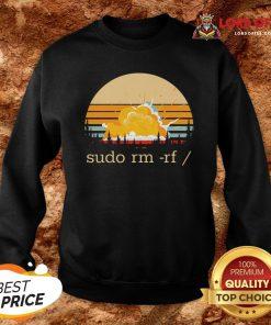 Official Sudo Rm Rf Vintage Sweatshirt
