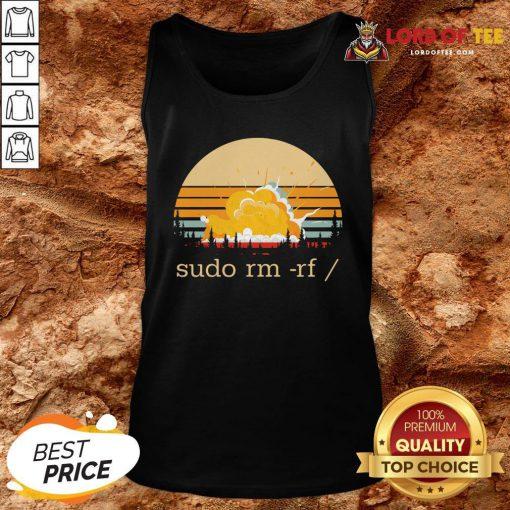 Official Sudo Rm Rf Vintage Tank Top