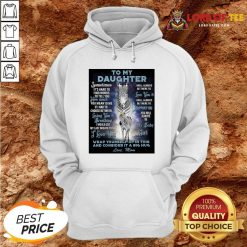 Official To My Daughter Wrap Yourself Up In This And Consider It A Big Hug Love Mom HoodieOfficial To My Daughter Wrap Yourself Up In This And Consider It A Big Hug Love Mom Hoodie Design By Lordoftee.com